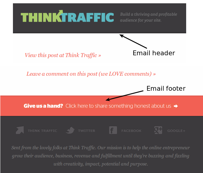 Think Traffic Email